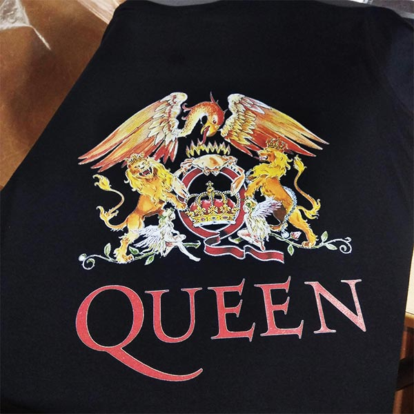 impresión digital Queen
