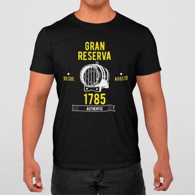 Camiseta negra Gran Reserva